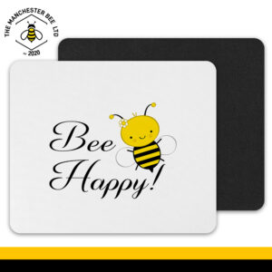 Bee Happy Mouse Mat