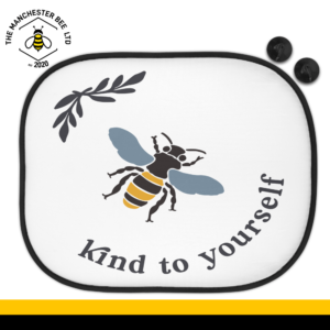 Bee Kind To Yourself Car Sun Shade