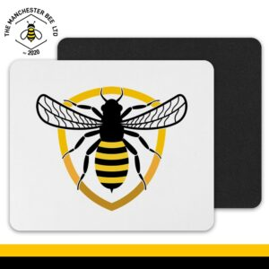 Bee Badge Mouse Mat