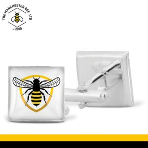 Bee Badge Cufflinks