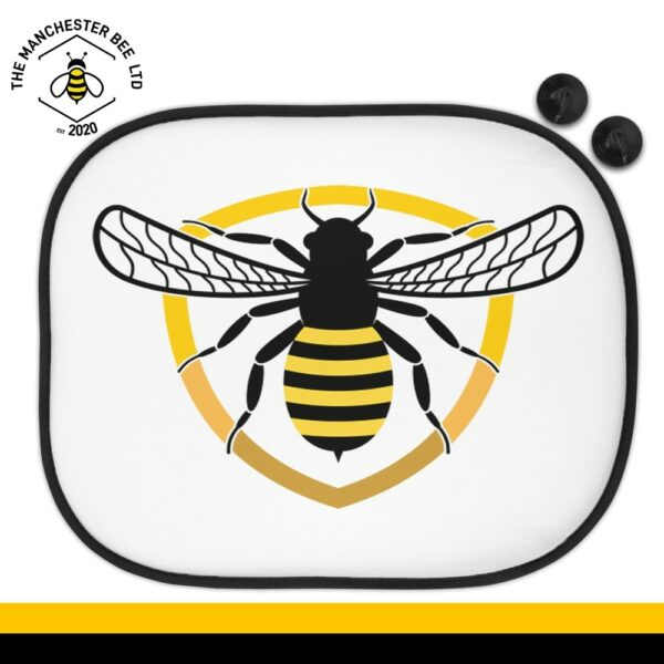 Bee Badge Car Sun Shade