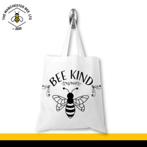 Bee Kind Jersey Tote Bag