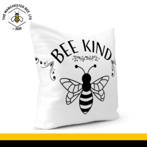 Bee Kind Bee Cushion Cover 40cm x 40cm