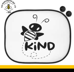 Bee Kind Car Sun Shade