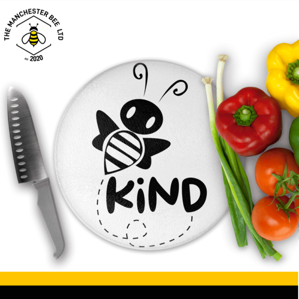 Be Kind Round Chopping Board