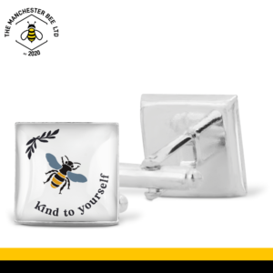 Bee Kind To Yourself Cufflinks