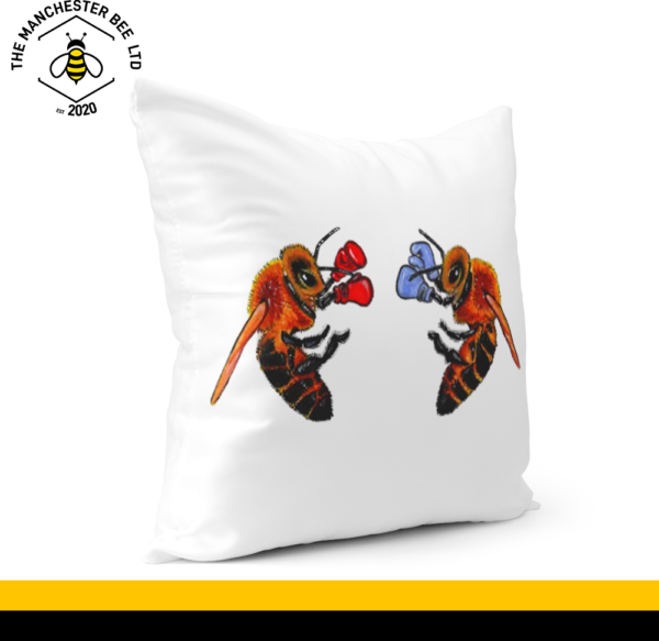 Boxing Bees Cushion Cover 30cm x 30cm