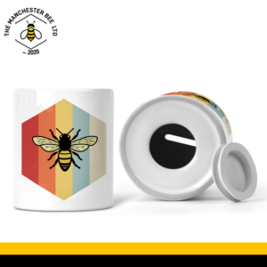 Retro Bee Money Box