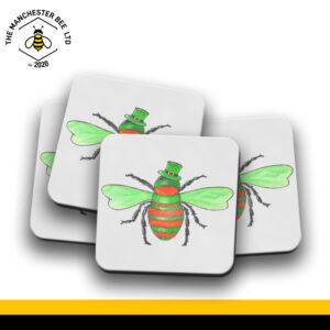 Set Of 4 Coasters - Irish Bee