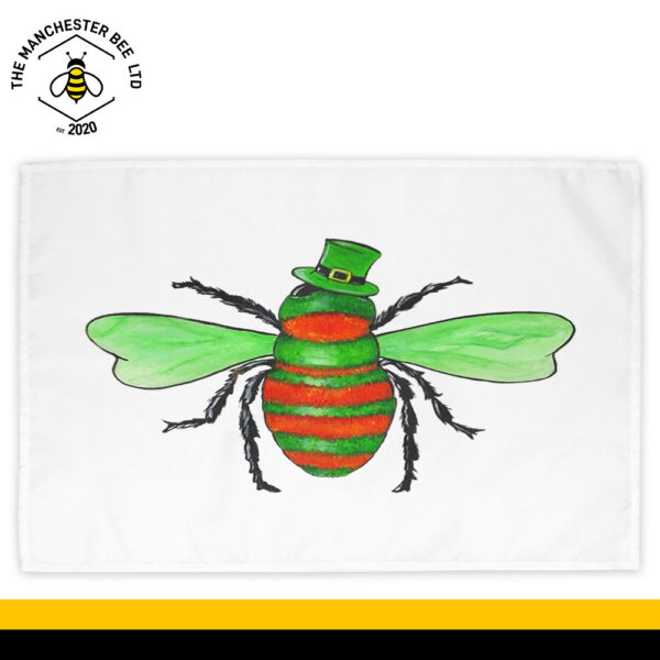 Irish Bee Cotton Tea Towel