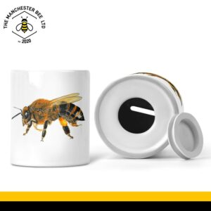 Lifelike Bee Portrait Money Box