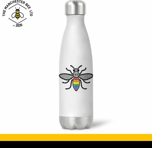 Manchester Pride Worker Bee Chilly Style Drinks Bottle