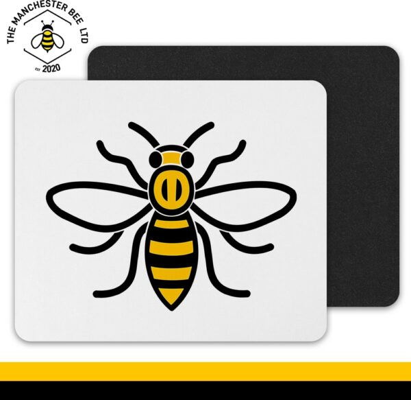 Manchester Worker Bee Mouse Mat