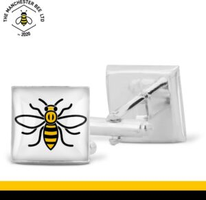 Manchester Worker Bee Cufflinks