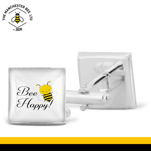 Bee Happy Cufflinks