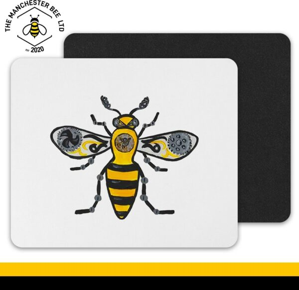 Steampunk Bee Mouse Mat