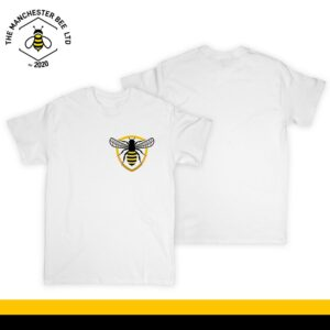 Bee Badge Crew Neck T-Shirt