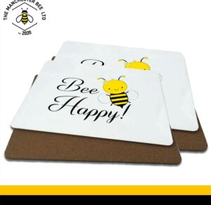 Bee Happy Luxury Placemats