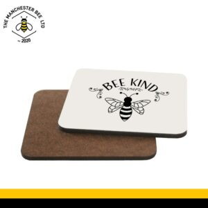 Bee Kind Single Drinks Coaster