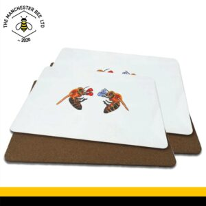 Boxing Worker Bees Luxury Placemats