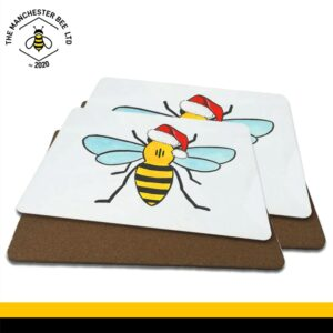 Christmas Worker Bee Luxury Placemats