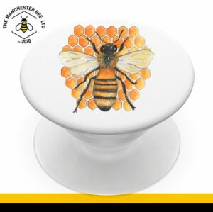 Honeycomb Worker Bee Phone Grip