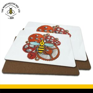 Industrial Worker Bee Luxury Placemats