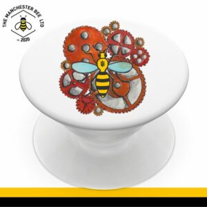 Industrial Worker Bee Phone Grip