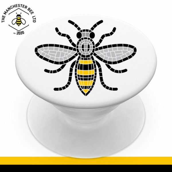Manchester Mosaic Worker Bee Phone Grip