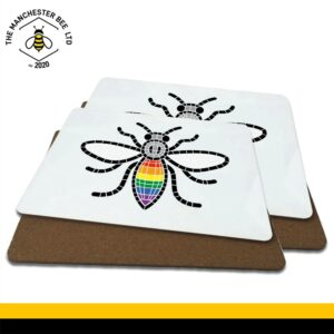 Manchester Pride Worker Bee Luxury Placemats