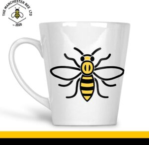 Manchester Worker Bee 12oz Latte Cup