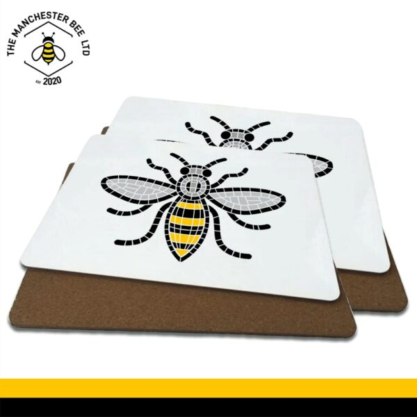 Manchester Mosaic Worker Bee Luxury Placemats