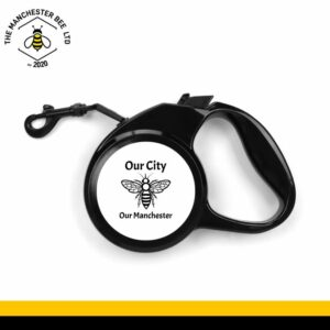 Our City Our Manchester Retractable Dog Lead - Large