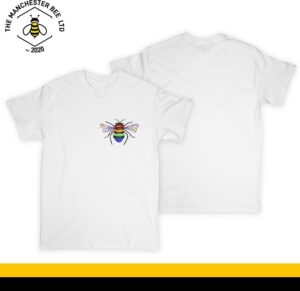 Rainbow Key Worker Bee Crew Neck T-Shirt