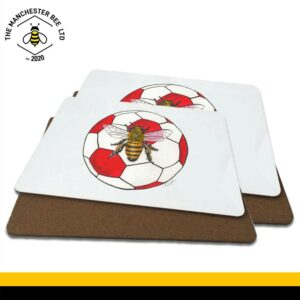 Red Football Bee Luxury Placemats