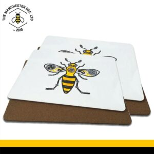 Steampunk Worker Bee Luxury Placemats