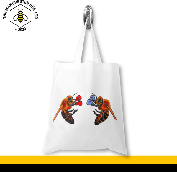 Boxing Bees Jersey Tote Bag