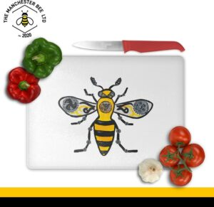 Steampunk Worker Bee Large Rectangle Chopping Board